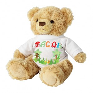 Personalised Name Animal Tatty Teddy Bear - Image 1