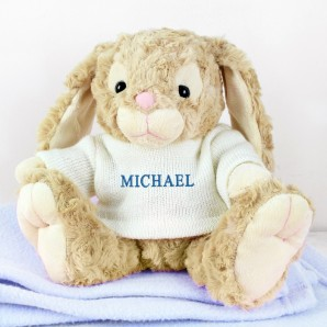 Personalised Bunny For A Boy - Image 1