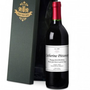 Personalised Red Wine - Image 1