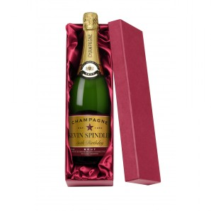 Personalised Birthday Champagne And Gift Box - Image 1