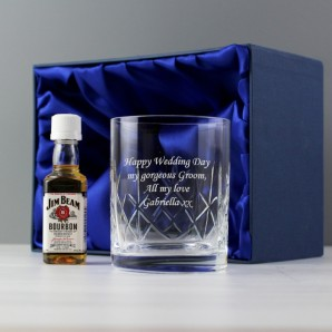 Personalised Crystal Whiskey Gift Set  - Image 1