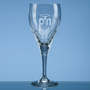 Personalised Traditional Lead Crystal Wine Glass - Image 1