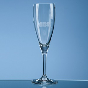 Personalised Elegant Crystal Champagne Glass - Image 1
