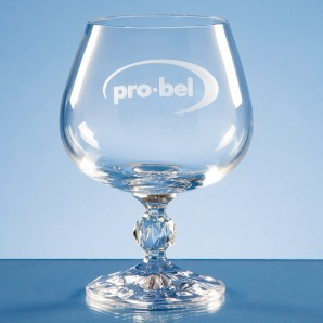 Personalised Crystal Brandy Glass - Image 1