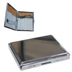 Personalised Bevelled Edge Cigarette Case - Image 1