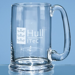 Personalised Darlington Crystal Pint Ale Tankard - Image 1