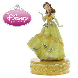 Disney Princess Personalised Trinket box, Belle - Image 1