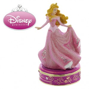 Disney Princess Personalised Trinket Box, Sleeping Beauty - Image 1