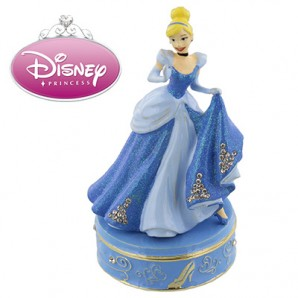 Disney Princess Personalised Trinket Box, Cinderella - Image 1