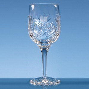 Personalised Lead Crystal Wine Goblet - Image 1