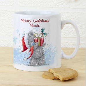 Personalised 'Me to You' Christmas Mug - Image 1
