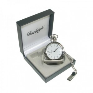 Personalised Silver Pocket Watch - Image 1