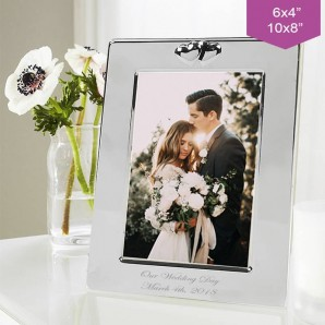 Personalised Love Heart Photo Frame - Image 1