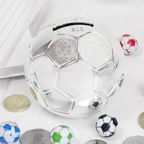 Engraved Football Money Box - Image 1
