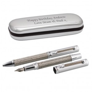 Engraved Stratton Champagne Pen  - Image 1