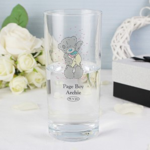 Me To You Wedding Male High Ball Glass - Image 1