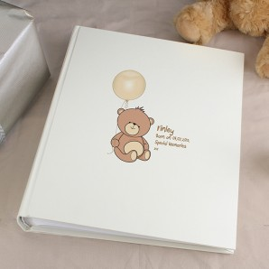 Personalised Teddy Bear Photo Album - Image 1