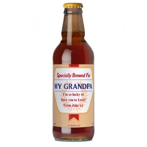 Personalised Bottle of Specially Brewed Beer - Image 1