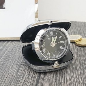Engraved Travel Alarm Clock - Image 1