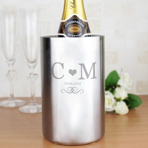 Personalised Monogram Wine Cooler - Image 1