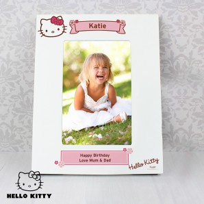 Personalised Hello Kitty Photo Frame - Image 1