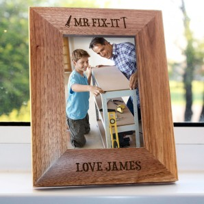 Personalised Mr Fix It Photo Frame - Image 1