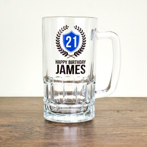Birthday Engraved Tankard - Image 1