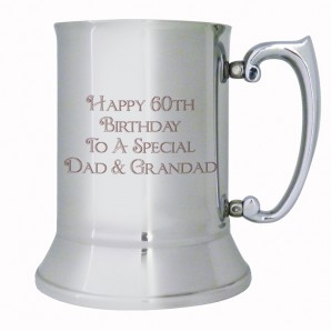Message Engraved Beer Tankard - Image 1