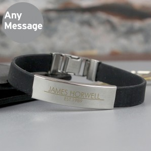 Engraved Male Bracelet - Image 1