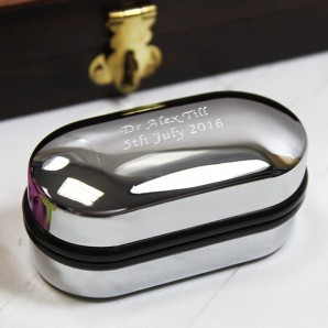 Personalised Cufflink Case - Image 1