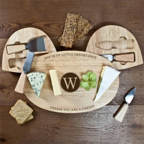 Personalised Age Cheese Board - Image 1
