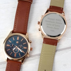 Personalised Mens Watch - Image 1