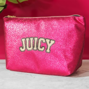 Juicy Couture Pink Cosmetic Bag - Image 1