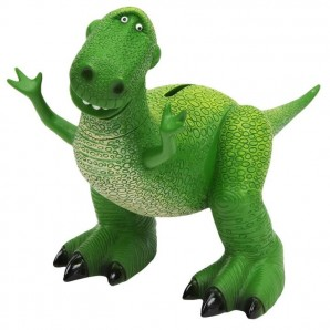 Toy Story Rex Dinosaur Money Box  - Image 1