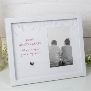 4  x 6     BY JULIANA  Anniversary Photo Frame   40 - Image 1
