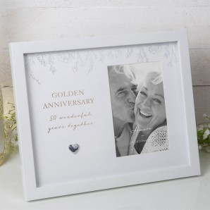 4  x 6     BY JULIANA  Anniversary Photo Frame   50 - Image 1