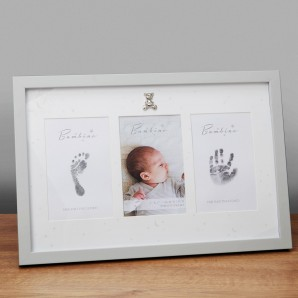4  x 6    Bambino Hand & Foot Print with Ink Pad Frame - Image 1