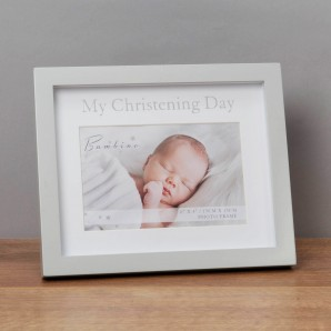 4  x 6    Bambino My Christening Day Frame in Gift Box - Image 1