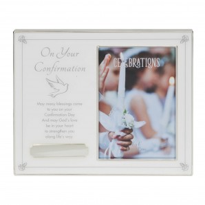 4  x 6    On Your Confirmation Frame with Engraving Plate - Image 1