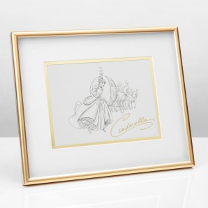 Disney Classic Collectables Framed Print   Cinderella - Image 1