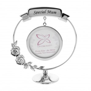 Crystocraft Frame   Special Mum   Crystals From Swarovski  - Image 1