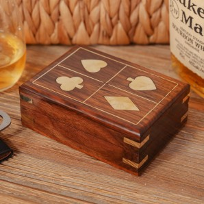 HARVEY MAKIN  Wooden Game Set   Cards - Image 1