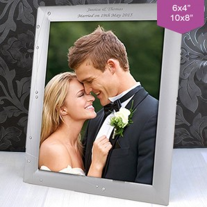 Personalised Crystal Photo Frame - Image 1