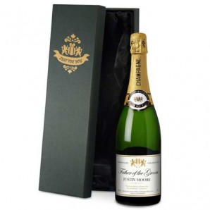 Personalised Authentic Wedding Champagne - Image 1