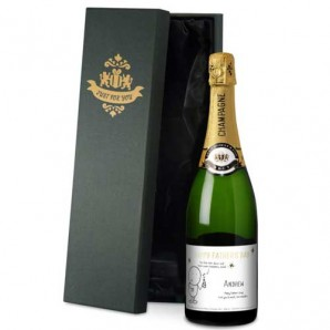 Personalised Chilli & Bubbles Father's Day Champagne - Image 1