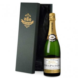 Personalised Golden Anniversary Champagne - Image 1