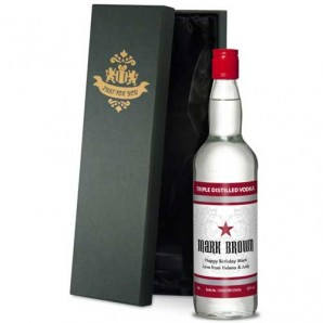 Personalised Classic Vodka - Image 1
