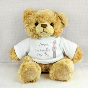 Personalised Fabulous Page Boy Tatty Teddy - Image 1
