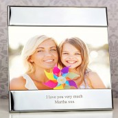 Engraved Photo Frame - Contemporary