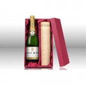 Original Newspaper & Personalised Champagne  Set